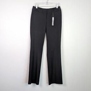 LOFT Black Julie Trouser NWT Size 6T